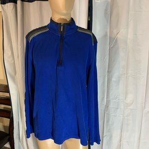 Calvin Klein 1/4 zip pullover xxl
